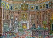"Alexander Borisov. Karenin's office, Film sets for ""Anna Karenina"". 2009–2012"