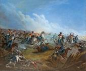 Mikhail Lermontov. Attack by the Life-Guard Huss ars in the Battle of Warsaw on