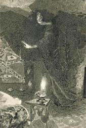 "Mikhail Vrubel. Demon Illustration to the poem ""Demon"" by Mi khail Lermontov"