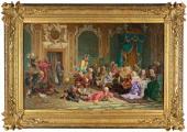 Valery Jakobi. Fools at Anna Ioannovna's Court. 1872
