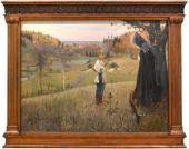 Mikhail Nesterov. The Vision of Young Bartholomew. 1889-1890