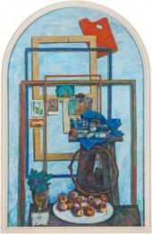 Anatoly Nikich-Krilichevsky. Festive Still-life. 1975