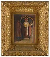 Vasily Vereshchagin. The Icon of St. Nikolas from THE Headwaters of the Pinega R