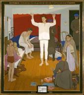 """Dmitry Zhilinsky. """"1937"""". Triptych. 1987"""