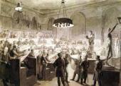 Alexei Venetsianov. Life Class at the Academy of Arts. c. 1824