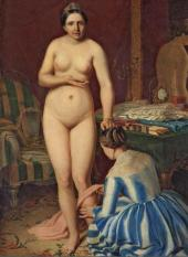 Alexei Venetsianov. The Toilette of Diana. 1847