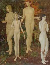 Dmitry Zhilinsky. Four Seasons. 1974