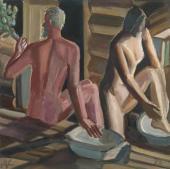 Nikolai Andronov. Bath-house. 1983