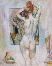 Yevsei Moiseenko. Artist's Model. 1980