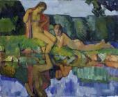 Nikolai Ulyanov. By the Water. 1924