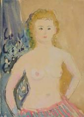Antonina Sofronova. Model. 1935