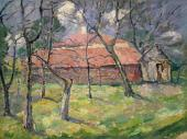 Kazimir Malevich. Landscape near Kiev. 1930