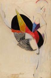 Alexandra Exter. Dancer. 1916