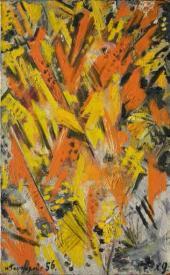Natalia Goncharova. Rayonism. 1956