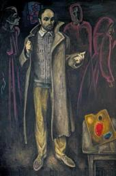 Viktor Popkov, Father's Greatcoat. 1970-1972