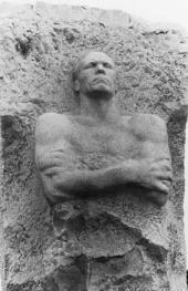 Vladimir Tsigal. Monument to Hero of the Soviet Union Dmitry Karbyshev. 1962