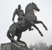Alexander Rukavishnikov. Monument to General Mikhail Skobelev. 2014