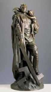 Yevgeny VUCHETICH. The Warrior-Liberator. 1948