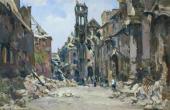 Porphiry KRYLOV. Gest apo Building. 1945