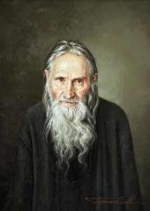 Sergei Prisekin. Schema-Archimandrite Ilya. 2014