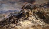 Pyotr MALTSEV. Attack on Sapun Mountain. 1958