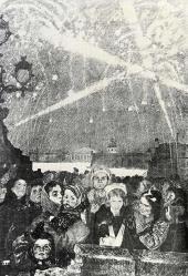 Alexei Pakhomov. Fireworks on January 27 1944
