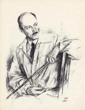 Georgy Vereisky. Eugene Lanceray. September-October 1944