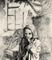 An Orphan from Velikiye Luki. 1943