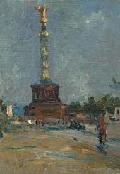Victory Column. Berlin. 1945