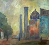 Robert Falk. Samarkand. 1942-1943