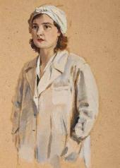 Vasily Kirikov. Nurse. 1941-1945