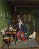 The Aristocrat's  Breakfast. 1849-1850