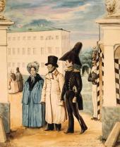 A Walk. 1837