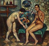 Ilya MASHKOV. Models in the Studio. 1916