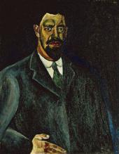Pyotr KONCHALOVSKY. Self-portrait. 1910