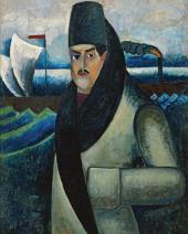 Ilya MASHKOV. Self-portrait. 1911