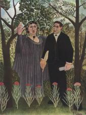 Henri ROUSSEAU. Poet and Muse. 1909