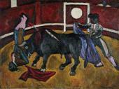 Pyotr KONCHALOVSKY. Bull Fighting. 1910