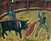 Bull Fighting. 1910