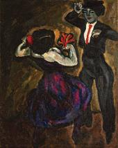 Pyotr KONCHALOVSKY. Spanish Dance. 1910