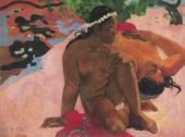 Paul GAUGUIN. Aha Oe Feii (Are you jealous?). 1892