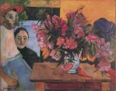 "Paul GAUGUIN. ""Te Tiare Arani"" (""Flowers of France""). 1891"