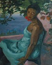 Alexander KUPRIN. Portrait of Black Woman. 1908–1909