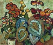 Ilya MASHKOV. Begonias. 1909–1911
