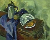 Alexander KUPRIN. Still-life with Vobla. 1918