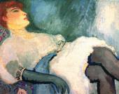 Kees van DONGEN. A Lady in a Black Glove. 1907