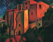 Andre DERAIN Old Castle in Cagnes. 1910