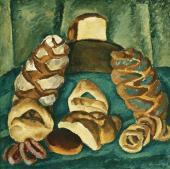 Pyotr KONCHALOVSKY. Bread on the Green. 1913
