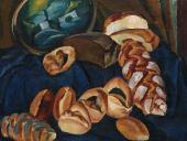 Pyotr KONCHALOVSKY. Bread on the Blue. 1913