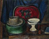 Pyotr KONCHALOVSKY. Still-life with Red Tray. 1912